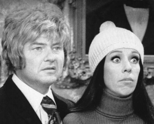 Harvey Korman and Carol Burnett in a scene from 'The Carol Burnett Show.' Mr. Korman was a mainstay of the variety show for a decade.