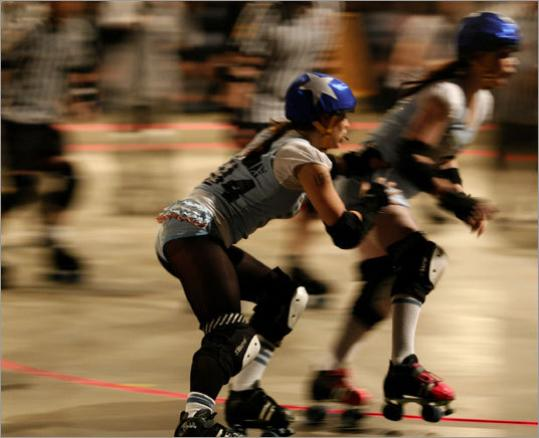 Boston Massacre Roller Derby is the all-star team from the Boston Derby Dames league comprised of female skaters. They compete at Shriners Auditorium in Wilmington.