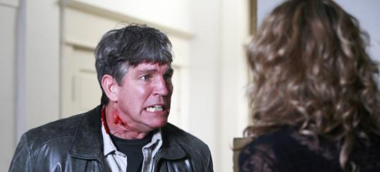 Eric Roberts plays a rogue ex-cop in 'Spooked,' one of 13 episodes of the new NBC horror series 'Fear Itself.'
