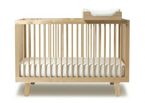 OEUF Birch Sparrow Crib Available at Oeuf , $690. We love this crib because using an easy conversion kit, parents can transform it into a toddler bed.