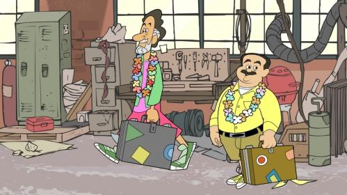 Click and clack leave their garage behind and head out on vacation