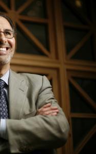 Dr. Lee Nadler wants to break down walls in Harvard's medical 'megalopolis.'