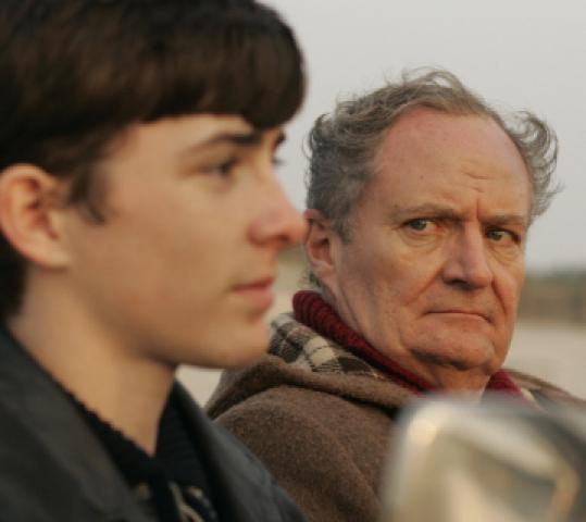 Matthew Beard plays Blake as a teen with Jim Broadbent as his overbearing father.