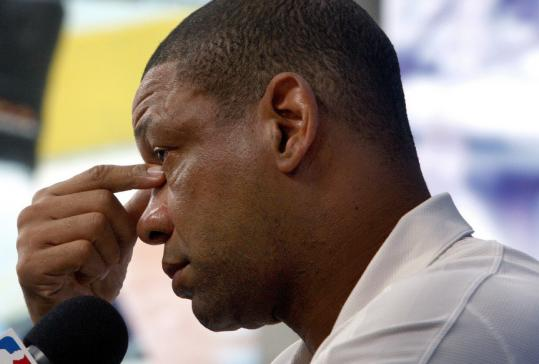 The Celtics can wrap up the NBA title tomorrow on Father's Day, an emotional thought not lost on Doc Rivers, whose father died in November.