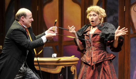 39 ladies man 39 has some fun with adapted farces the boston for Farcical comedy plays