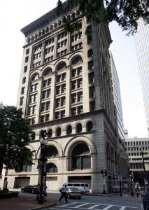 Morgans Hotel Group said its hotel in the Ames Building will embody the avant-garde feel of its other properties.