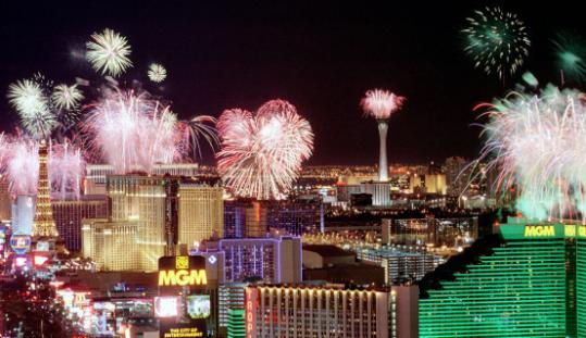 The Las Vegas Strip adds to its sizzle for July 4.