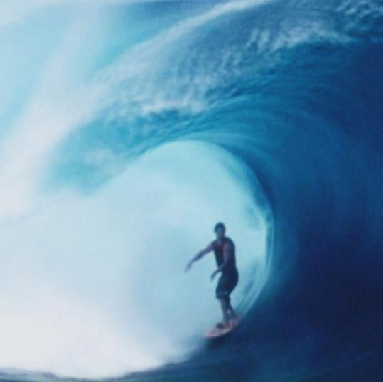 Koby Abberton surfs in Tahiti in the documentary 'Bra Boys.'