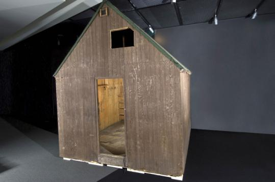 Unabomber Ted Kaczynski's cabin is part of an exhibition recounting the FBI's relationship with the news media.
