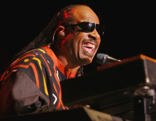 Stevie Wonder (shown here in Boston in September) began touring again last year after a 10-year hiatus.