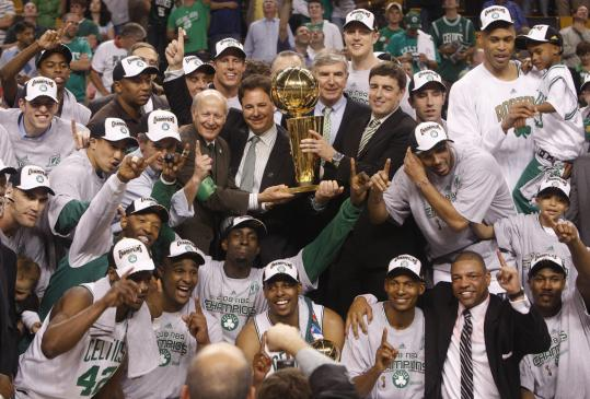 In the words of captain Paul Pierce, 'It doesn't get any better than this' for the 2007-08 Celtics.