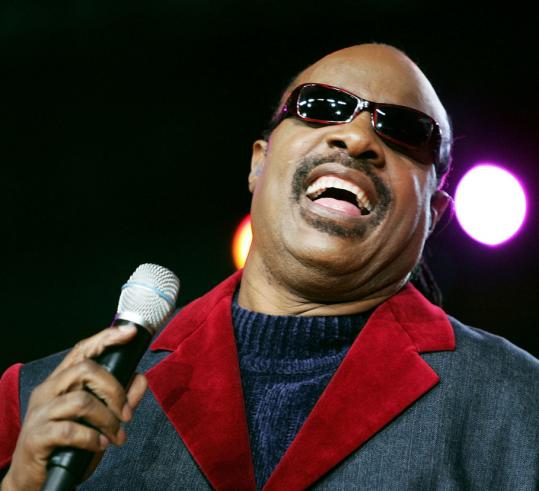 Stevie Wonder delivered his golden hits with little luster lost.