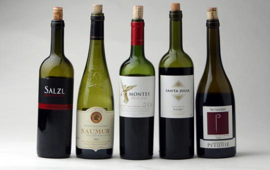 These red wines are a good on their own or as an accompaniment to a light summer meal.