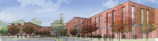 The Wellesley School Building Committee settled on a plan calling for a new high school complex to replace the 1938 building, with the initial price tag estimated at $159 million.