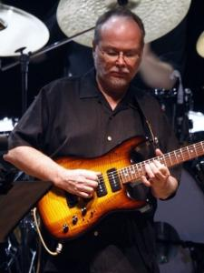 Walter Becker (above, earlier this month in New York) and Donald Fagen led Steely Dan in a hit-filled show Monday.