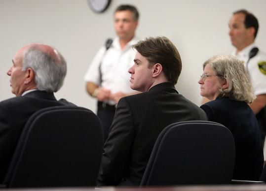 Defendant Neil Entwistle was back in Middlesex Superior Court in Woburn yesterday with defense lawyers Elliot Weinstein and Stephanie Page. The 12-member jury, six men and six women, will begin its second day of deliberations today.