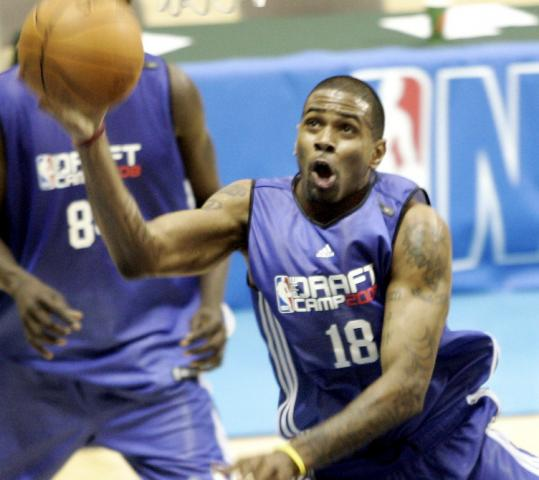 NBA scouts got a good look at ex-UMass standout Gary Forbes at the Orlando predraft camp, and they liked what they saw.