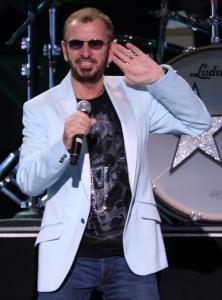 Ringo Starr was a buoyant ringleader for his stable of stars.