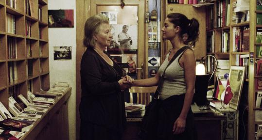 Hanna Schygulla (left) and Nurgül Yesilçay struggle with changing mores in 'The Edge of Heaven.'