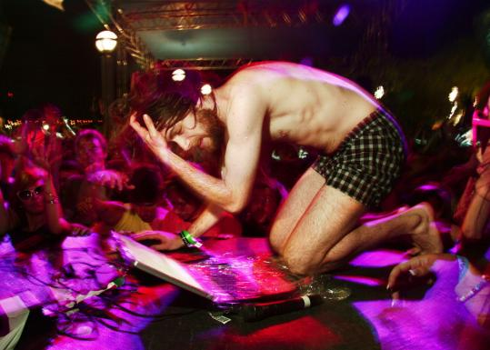 Greg Gillis, known as Girl Talk, has released 'Feed the Animals,' available by download.