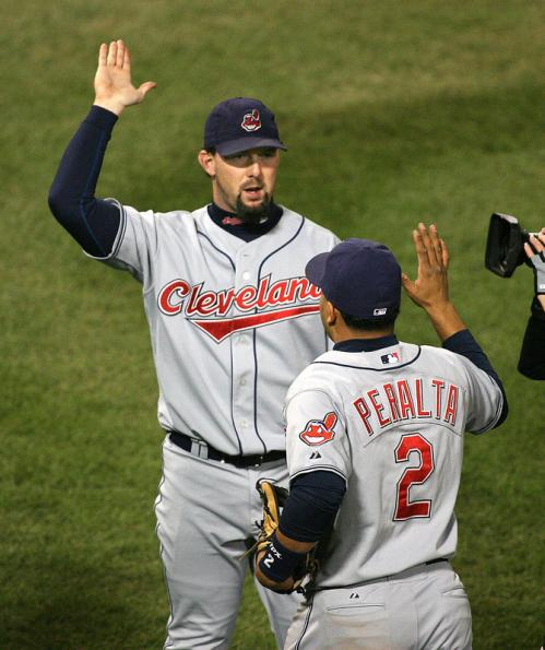 Not offered salary arbitration by the Red Sox, who had signed J.D. Drew following the 2006 season and boasted Wily Mo Pena as a potential fourth outfielder, Nixon signed a one-year, $3 million contract with the Cleveland Indians in January of 2007. He wore the No. 33 in tribute to the age he turned that April.