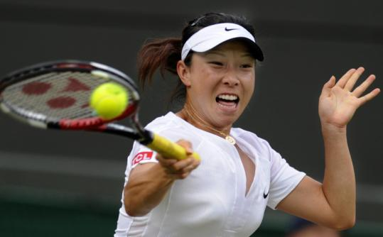 China's Zheng Jie may be ranked 133d, but she was too much for top-seeded Ana Ivanovic, who was upset in the third round.