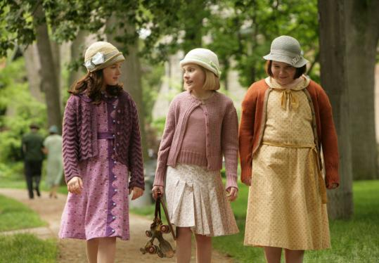 From left: Madison Davenport, Abigail Breslin, and Brieanne Jansen in 'Kit Kittredge: An American Girl.'
