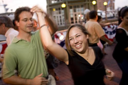 Eric Seavey of Wakefield scored a dance at the Boston Harbor Hotel. Seavey said swing dance is just a hobby. He loves the convenience of Summer Swing because it's only three minutes away from his workplace. See more pics from this event More info on the Boston Harbor Hotel SUBMIT Your nightlife photos! TALK What scene should we visit next?
