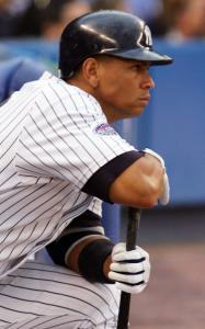 Alex Rodriguez's personal life appears to be batty, but he produces with a bat in his hands.