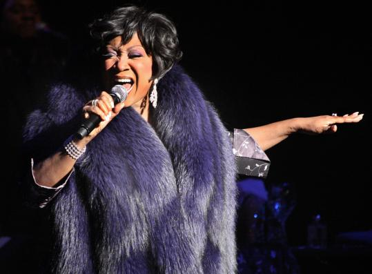 After four decades in the music business, Patti LaBelle (above, at the Wang Theatre in January) is as busy as ever.