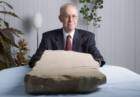 David Jeselsohn, an Israeli-Swiss collector, bought this ancient tablet from a Jordanian antiquities dealer. He did not realize its significance until he showed it to a specialist.