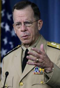 Admiral Michael G. Mullen said the Afghanistan campaign has been running short of troops.
