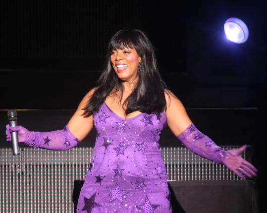 Donna Summer sang most of her hits as well as songs from her new CD, 'Crayons,' on Saturday.