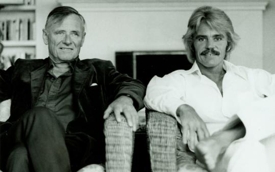 Christopher Isherwood (left) and Don Bachardy in the 1970s.