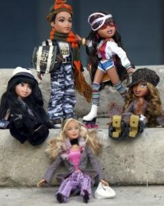 Since being introduced in 2001, MGA Entertainment's Bratz dolls have cut into Mattel's Barbie sales.