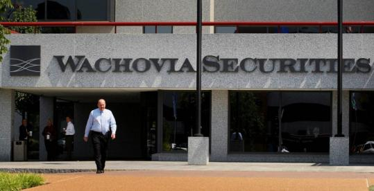 Missouri officials say Wachovia Securities did not fully comply with requests for records, prompting an onsite inspection.