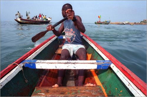 Senegalese fishermen travel to distant ports as far away as Angola, and some of those spend their cash on prostitutes in areas of much higher rates of HIV prevalence than Senegal. These fishermen can potentially bring HIV into Senegal in higher numbers and spread the virus.