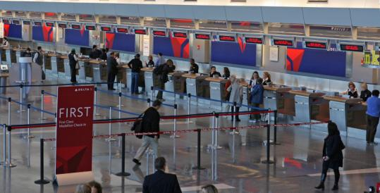 About 13.1 million passengers traveled through Logan as of June 30, compared to more than 13.8 million in the same period last year.