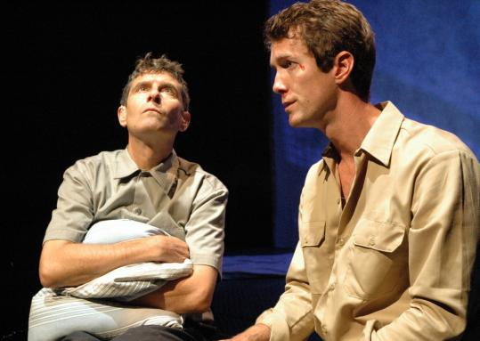 Marc Carver (left) and Adam Harrington in Martin McDonagh's 'The Pillowman.'