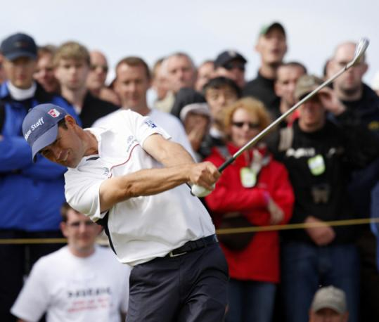 Padraig Harrington was dialed in on the back nine - including an eagle on No. 17 - to leave the other contenders in his wake.