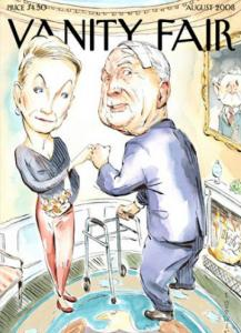 Vanity Fair's spoof of the widely criticized New Yorker cover that featured the Obamas shows the McCains.