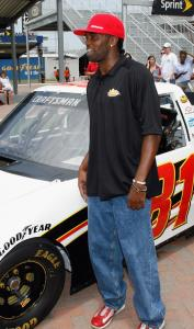 Randy Moss, businessman, hooked up with NASCAR to purchase 50 percent of a Craftsman Truck Series team.