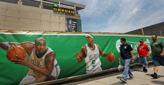 Bank executives haven't determined TD Banknorth Garden's new name, but 'Garden' will be part of the name.