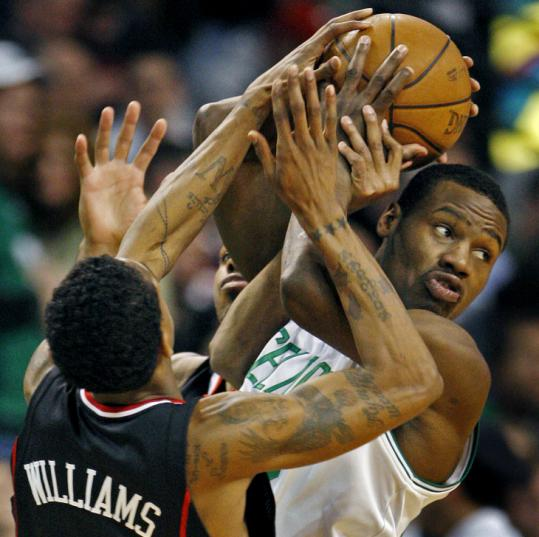 His left knee healthy again, Celtics guard Tony Allen is looking to improve by leaps and bounds next season.