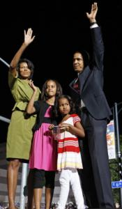 Barack Obama and his wife, Michelle, say they are determined that his presidential bid not disrupt the normal, happy childhood of their daughters, Malia and Sasha, who would be two of the youngest residents of the White House in 30 years if Obama wins. 'No whining, arguing, or annoying teasing' are some the rules of their household, Michelle Obama told People magazine for a cover story for the issue that hits newsstands tomorrow.