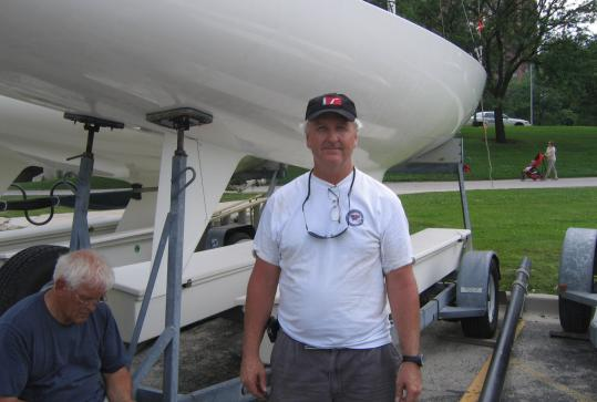 Jud Smith of Marblehead has been competing in the top sailboat races all over the world for some 30 years.