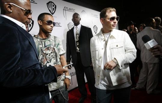Scott Storch (shown in 2006 at an MTV Video Music Awards party) has not had a top-10 hit in three years and owes more than $500,000 in real estate taxes.
