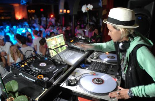 lesbian DJ