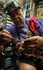 Saxophone Mechanic Has Gig Down To An Art The Boston Globe