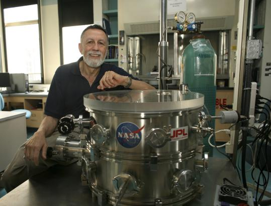 Samuel Kounaves led the team that conducted chemical analysis of NASA samples from Mars.